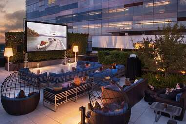 rooftop movie