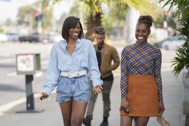Yvonne Orji and issa rae in insecure season 4