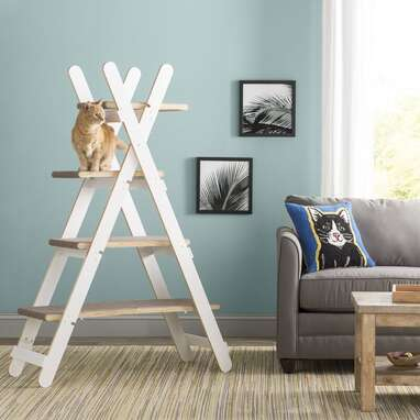 ladder cat tree