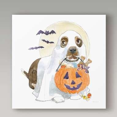 Halloween Pets III Wall Art