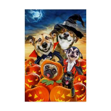 Spooky Puppies by Howard Robinson