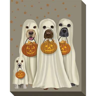 Halloween Trick Or Treat Dogs by Fab Funky