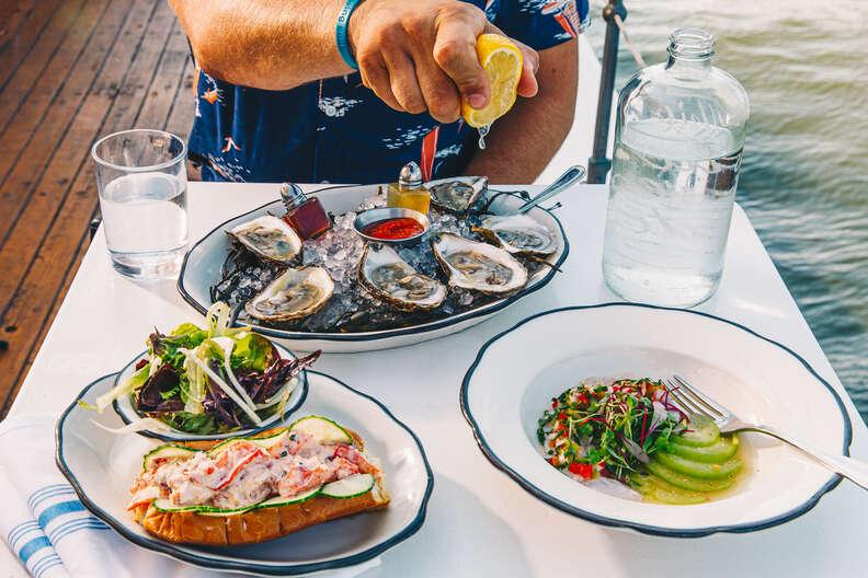seafood at Pilot