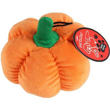 Petlou Durable Plush Pumpkin Toy