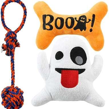 JPB Halloween Dog Toy Set