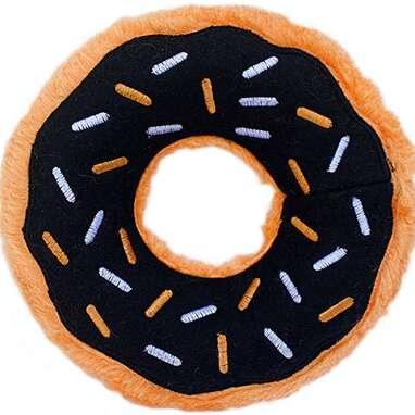 ZippyPaws Pumpkin Spice Donut Toy