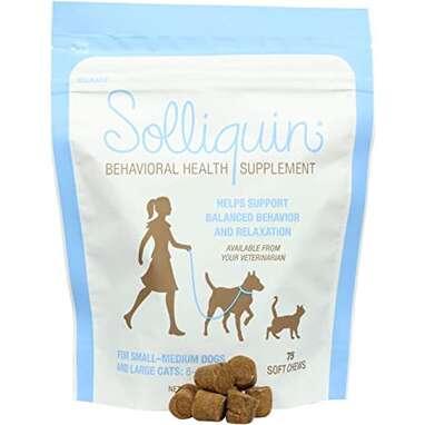 Solliquin Behavior Supplement for Dogs & Cats