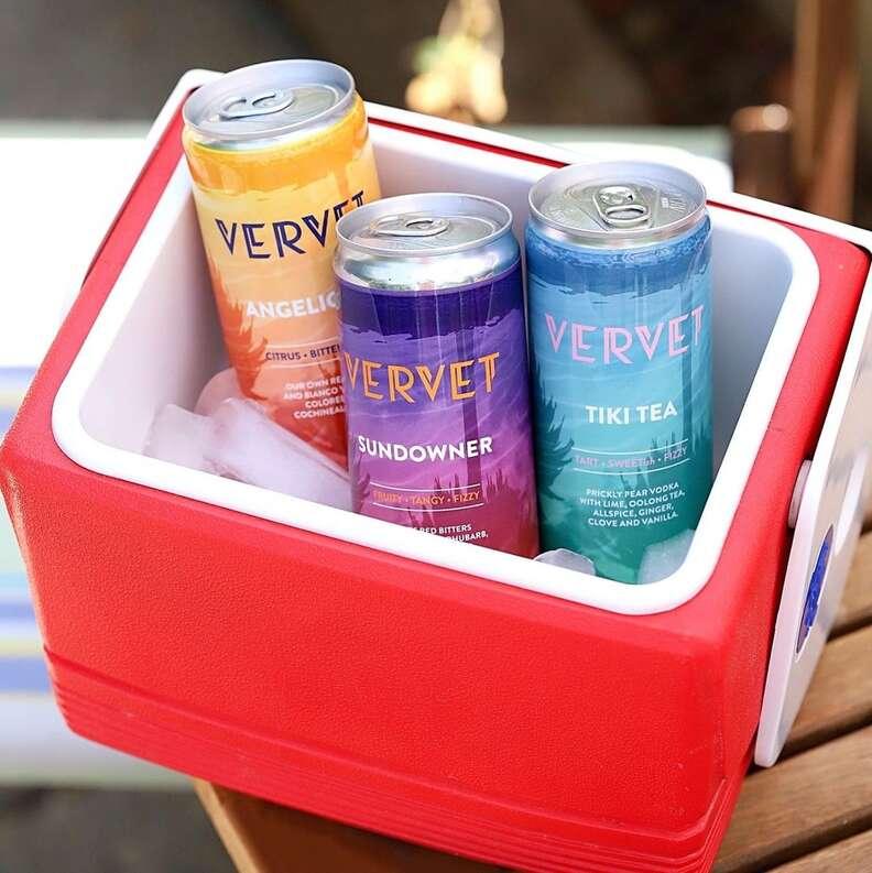 Vervet canned cocktails