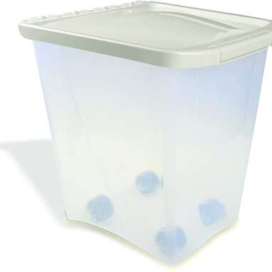 Van Ness 25-Pound Food Container with Wheels