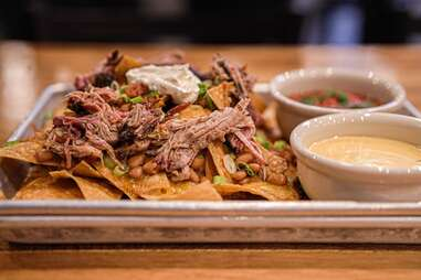 Jackalope Tex Mex nachos