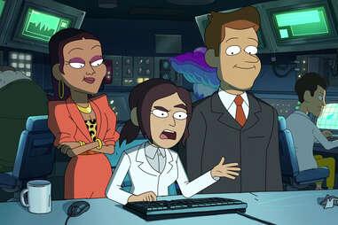 inside job netflix animated series