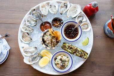 Salt Line oysters