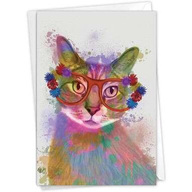 The Best Card Company, Funky Rainbow Cat