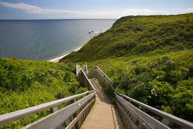 stairs to the beach