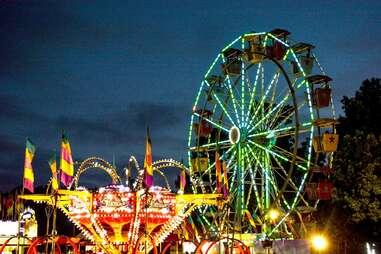 Georgia State Fair Ferris wheel