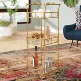 Armando 3 Tier Square Bar Cart