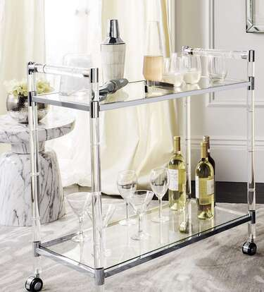 Embrace Drinking at Home Again with Big Deals on Great Bar Carts