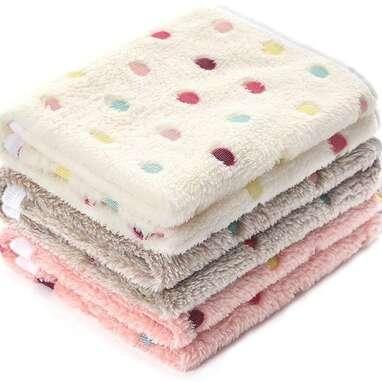 Luciphia 3-Pack Super Soft Blankets