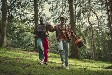 ncuti gatwa and connor swindells in sex education season 3