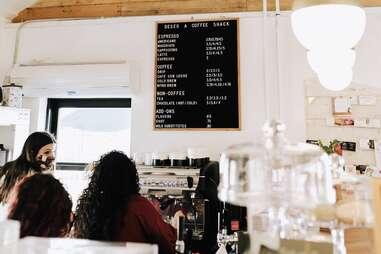 Deseo Coffee interior