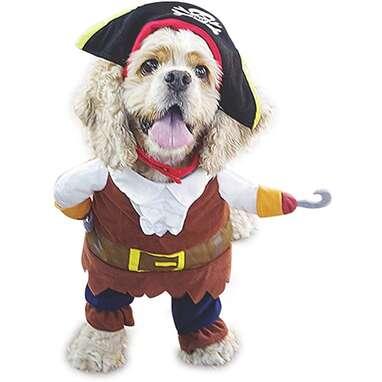 NACOCO Dog Pirate Costume