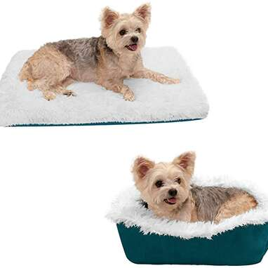 Furhaven ThermaNAP Self-Warming Cuddle Bed