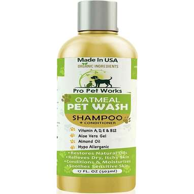 Pro Pet Works Natural Organic Oatmeal Shampoo