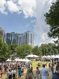 Atlanta Food & Wine Tasting Tents