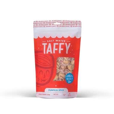 Taffy Shop Pumpkin Spice Salt Water Taffy Candy