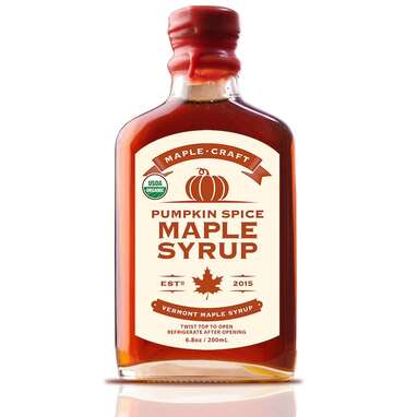 Pumpkin Spice Maple Syrup
