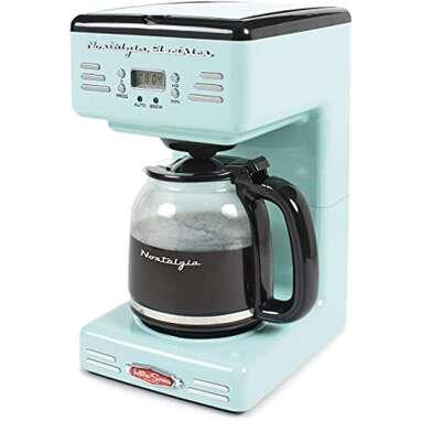 Nostalgia Electrics Programmable Coffee Maker