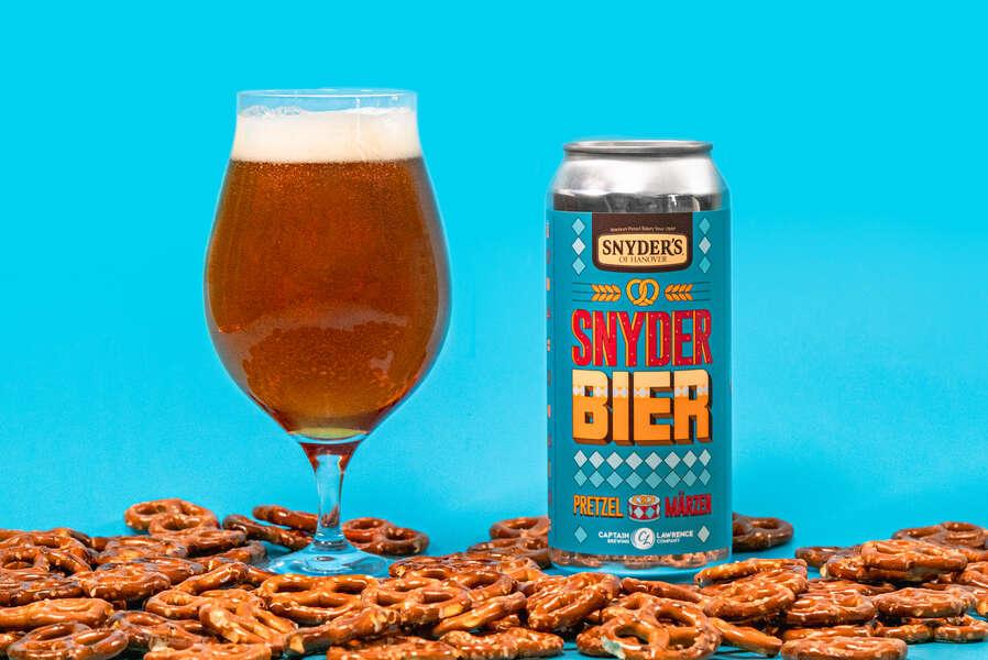 Snyder's Is Unleashing a Pretzel-Infused Beer for Oktoberfest