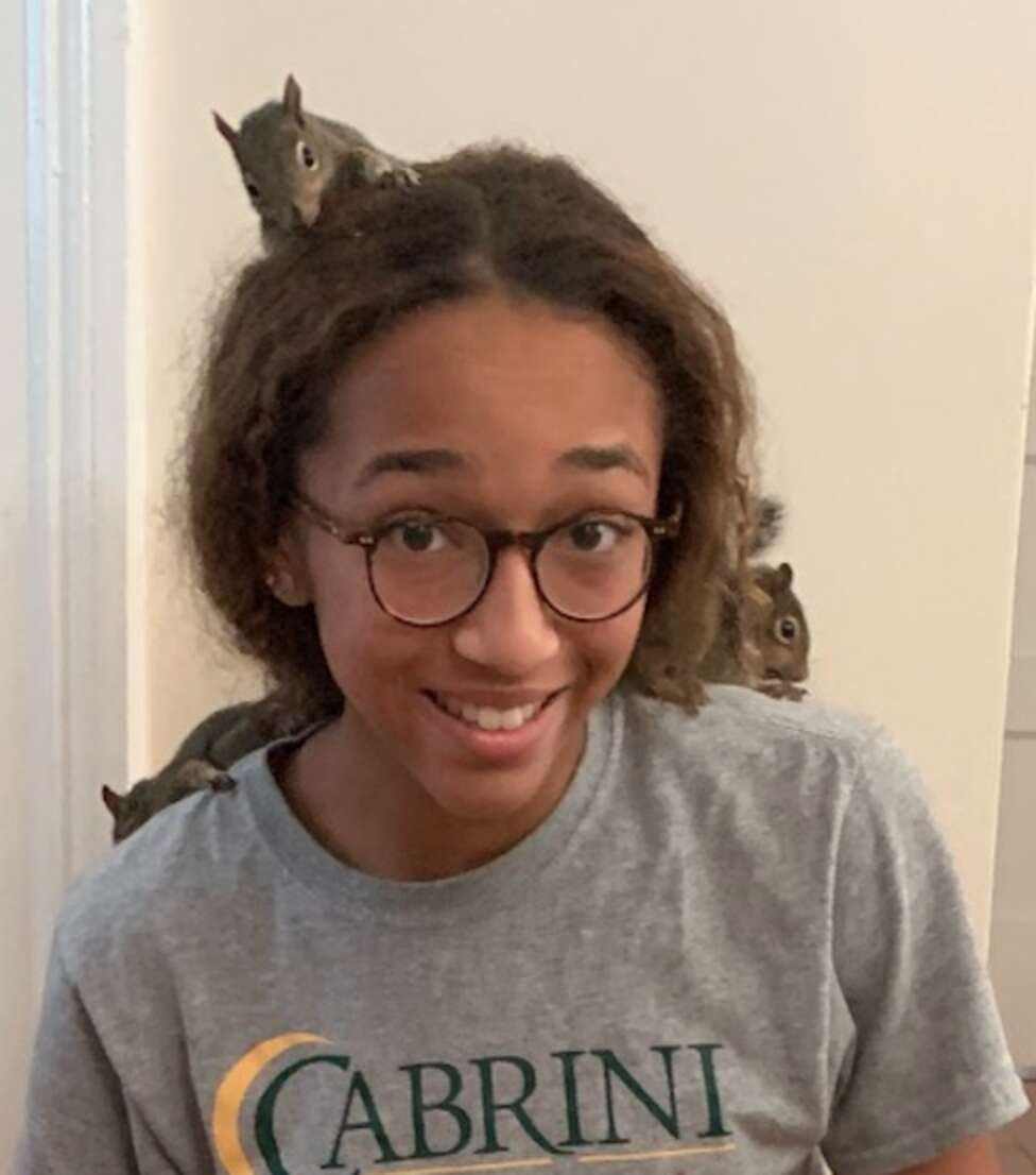 Teen Evacuating from Hurricane Rescues Orphaned Squirrels