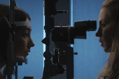 Natasha Liu Bordizzo and sydney sweeney in the voyeurs