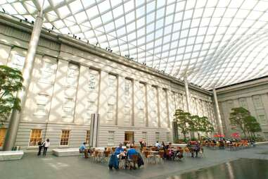 Kogod Courtyard - Smithsonian American Art Museum & Portrait Gallery
