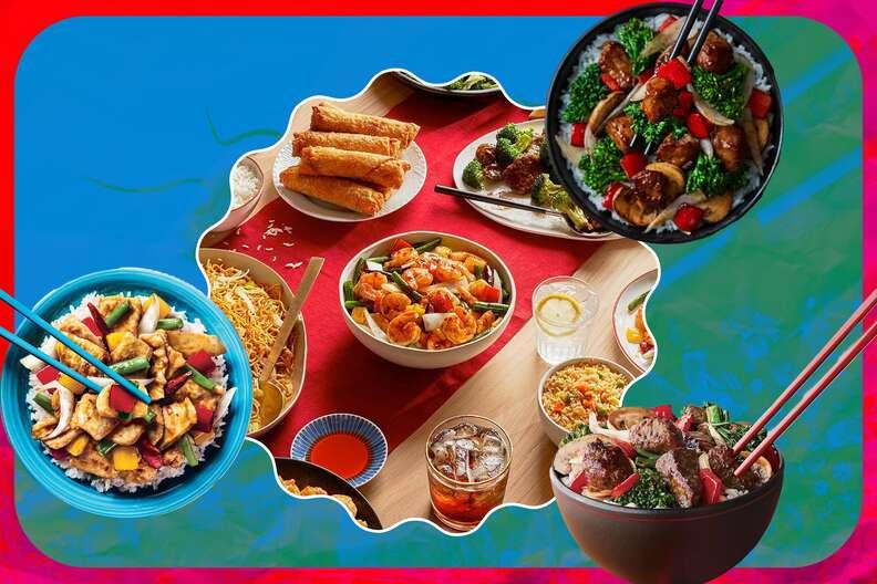 panda express menu items