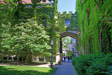 The University of Chicago, located in the Hyde Park neighborhood