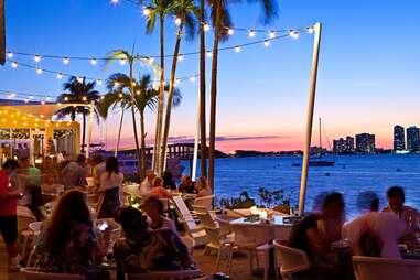 The Rusty Pelican Restaurant in Miami