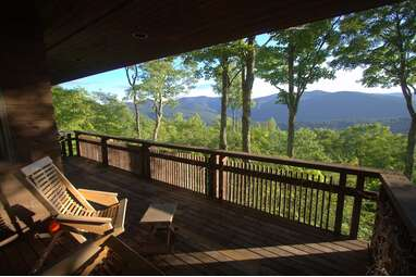 Treetop views in the Vermont National Forest