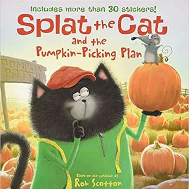 """""""Splat the Cat and the Pumpkin-Picking Plan"""""""