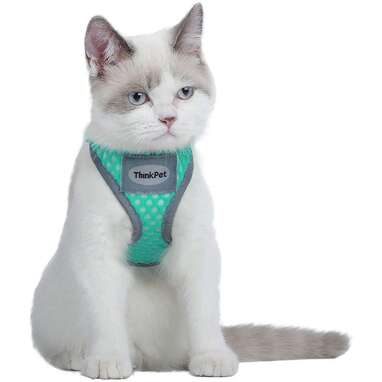 ThinkPet Reflective Breathable Soft Air Mesh Harness
