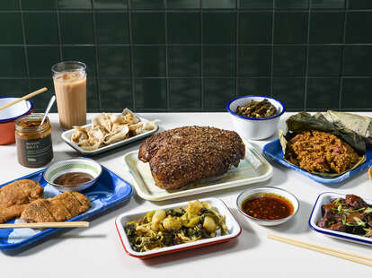 Milu's Mid-Autumn Festival dinner