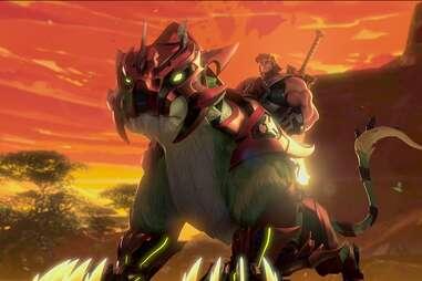 yuri lowenthal as he-man in he-man masters of the universe