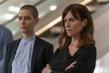 asia kate dillon and maggie siff in billions