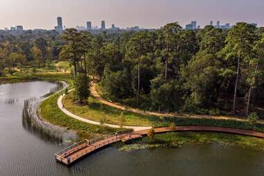 Memorial Park Conservancy eastern glades