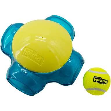 Outward Hound Squeaker Ballz Tennis Maze Craze