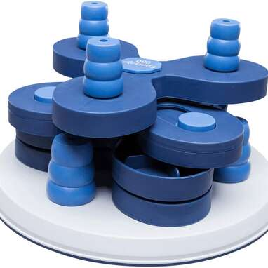 TRIXIE Flower Tower Dog Activity Game