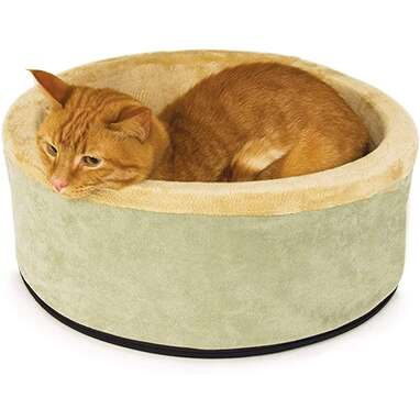 K&H Pet Products Thermo-Kitty Heated Bed
