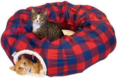 Kitty City Large Tunnel Bed