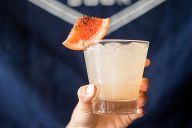 Sotol cocktail